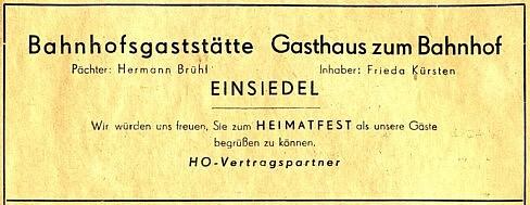 Werbung 1955