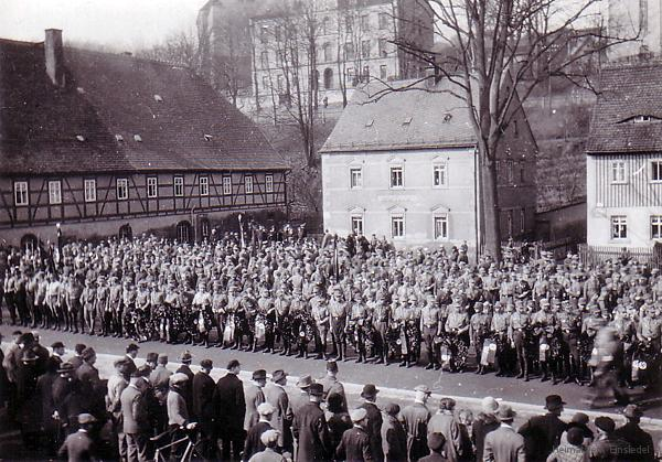 Am Plan 5 in Einsiedel am 23. März 1930