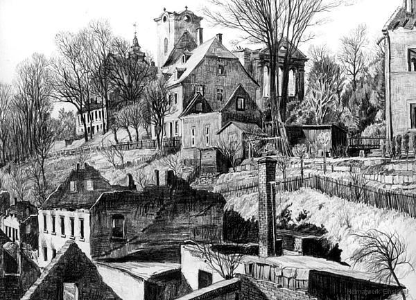 Ruinen Einsiedel Am Plan 1945