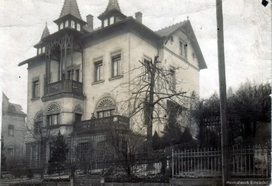 Herrmannstr. 9 in Einsiedel um 1911 von Anton Herrmann