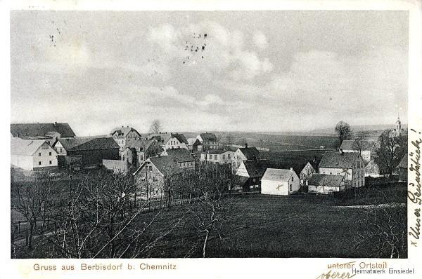 Oberer Berbisdorfer Ortsteil