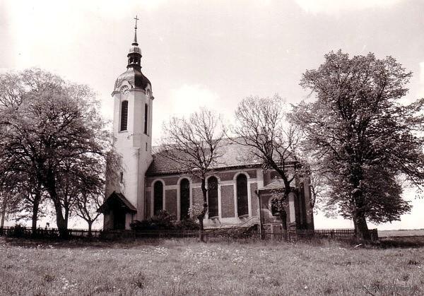 Die Berbisdorfer Kirche 1985