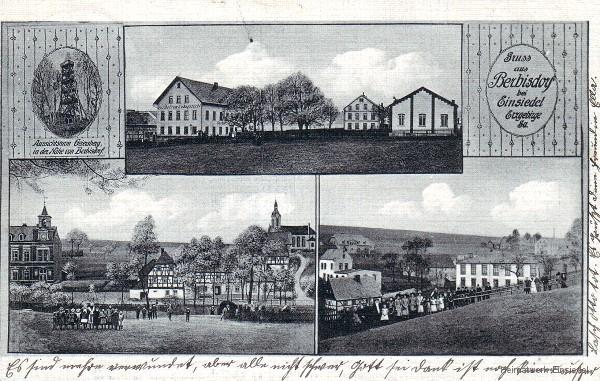 3er Motiv Berbisdorf 1911
