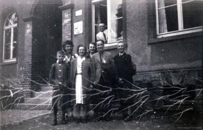 Vorm Keglerheim Berbisdorf 1941