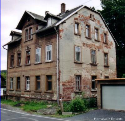 Giebel Gebäude Berbisdorfer Straße 13 2005
