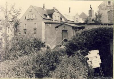 Berbisdorfer Str. 40 Eingang an der Giebelseite 1968