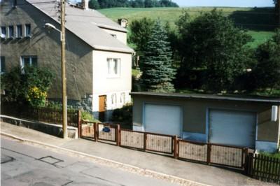 Berbisdorfer Str. 40 mit Garagen 1997