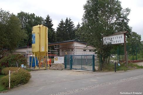 Umbau Einsiedler Freibad September 2009