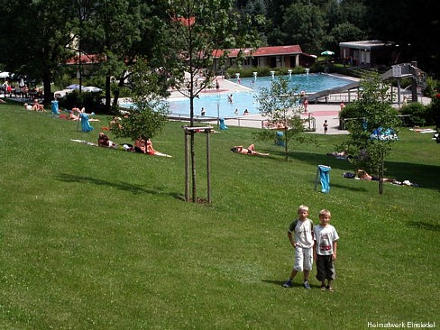 Freibad Einsiedel Juli 2005