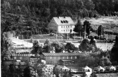Fernblick zum Pionierlager Einsiedel