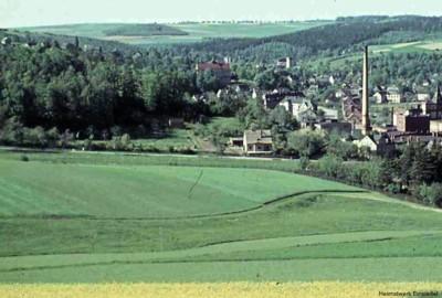 Eibenberger Straße in den 1950er Jahren