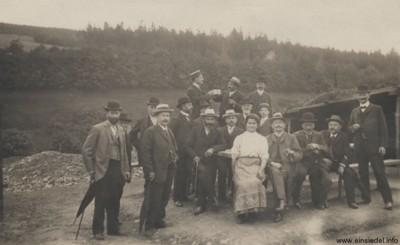 Wasserwerksweihe Körnerhöhe 1910
