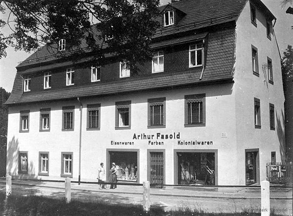 Wohn- und Geschäftshaus Fasold 1933