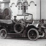Karl Stemmler als Chauffeur