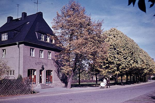 Apotheke Einsiedel Mitte der 1960er Jahre