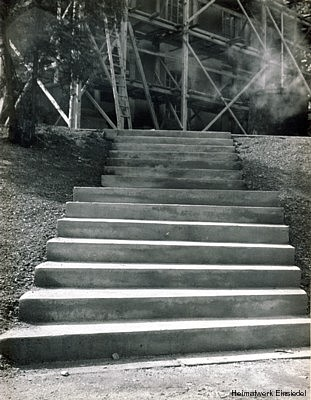 Treppe vor der Einsiedler Kirche