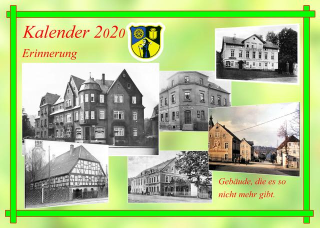 Historischer Einsiedler Kalender 2020