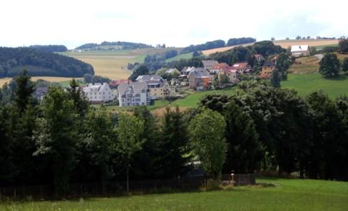 Pfarrhübelsiedlung Einsiedel im Juli 2008