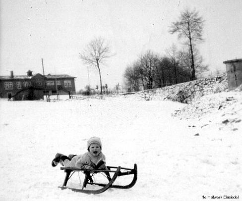 Naturbad und Schweizerhäusel Einsiedel im Winter 1938