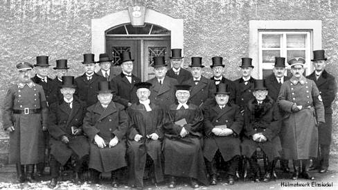 Kirchenvorstand Einsiedel 1936