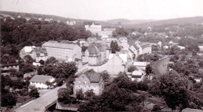 Einsiedler Neue Straße, oberer Teil 1975