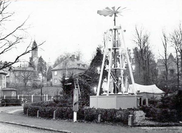 Pyramide Einsiedel in den 1970er Jahren