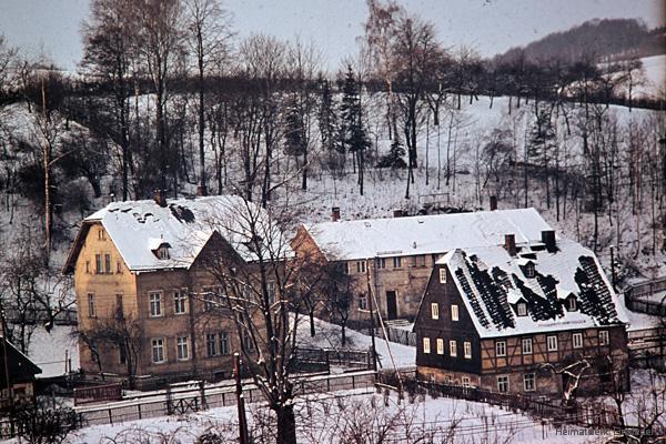 Kinderhort Einsiedel im Winter 1964/65