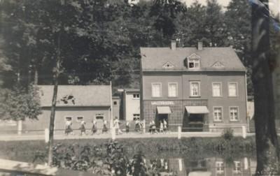 Fleischerei Edel in den 1930er Jahren