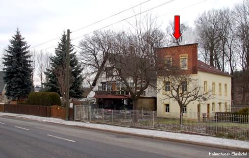 Ehemalige Stellmacherei reichel und Nebengebäude des Nachbargrundstücke im Dezember 2007