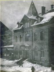 Restaurant zur Talsperre in Einsiedel mit Wintergarten und im Winter...