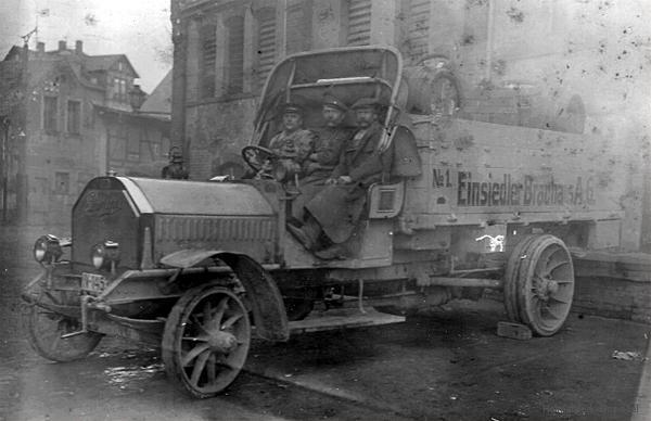 Die ersten Klw der Einsiedler Brauhaus AG um 1912