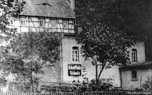 Buchbinderei Max Zickmantel im Hinterhaus
