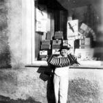 Zigarren-Krause, Einsiedel, Hauptstr. 87 1934