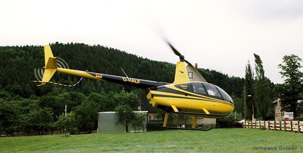 Hubschrauberrundflüge zum Einsiedler Brauereifest 1999