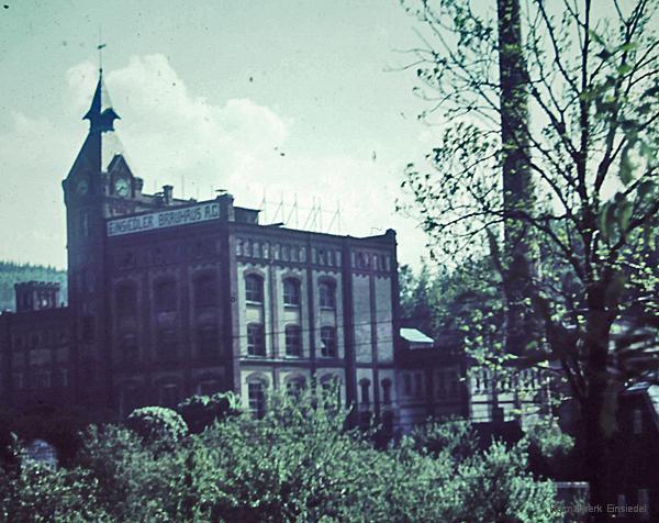 Einsiedler Brauhaus um 1954