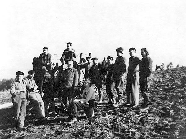 Aktivitäten in der bRauerei Einsiedel 1954
