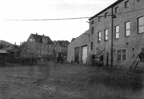 Im Einsiedler Brauhaus - volkseigen - im Februar 1975