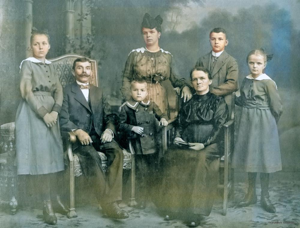 Die Familie Roscher um 1905