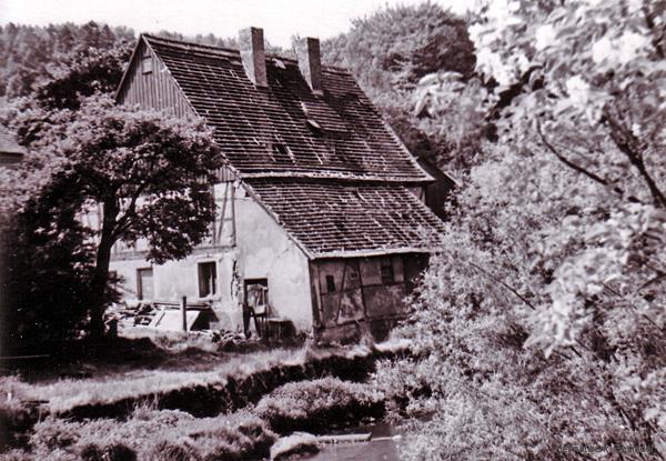 Das Roscher-Häusel kurz vor dem Abriss
