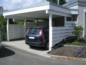 Heiming Zimmerei - Carport Dorsten
