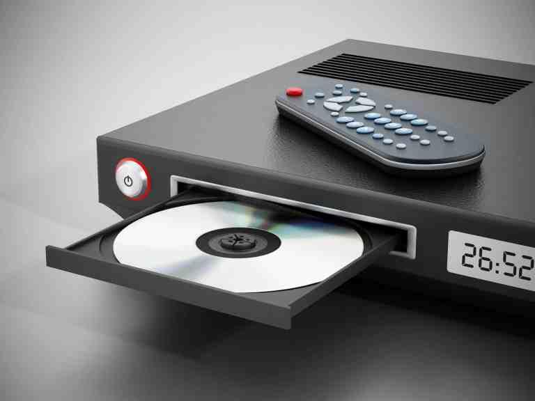 Blu-Ray-Player mit Fernbedienung