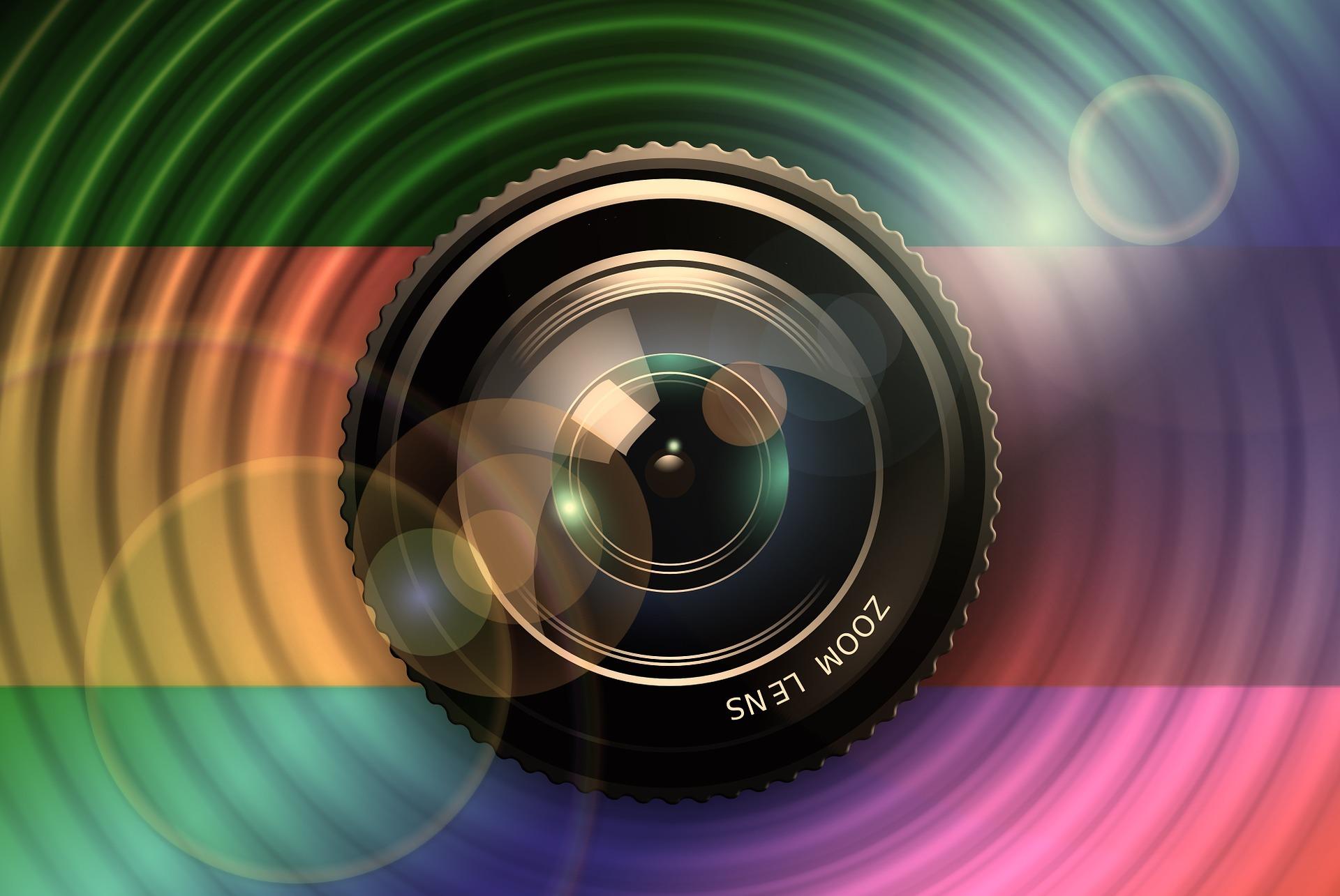 LCD Projektor Filme ansehen