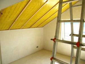Dachbodenisolierung und Dämmung