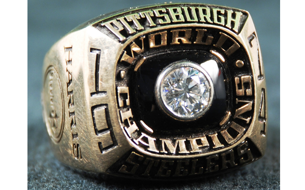 On Loan: Franco Harris's Super Bowl IX Ring