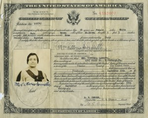ALT:Certificate of Naturalization, 1936