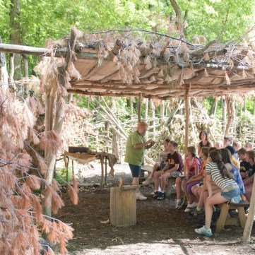 A Teaching Moment, Meadowcroft Prehistoric Indian Village