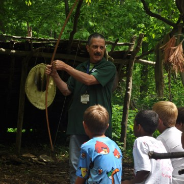 Bow and Arrow, Meadowcroft Prehistoric Indian Village