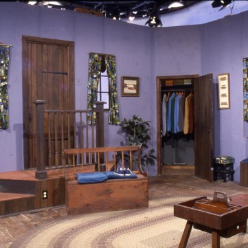 Mister Rogers living room, 1968: The Year That Rocked America