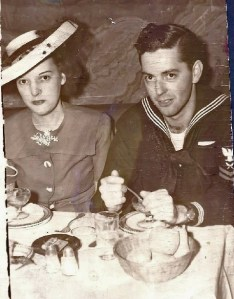 ALT:Wedding Photo 1943: Loretta Barnhart Cronin and Charles Henry Cronin Jr.