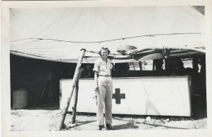 ALT:Mary Clymer, 1945, New Guinea